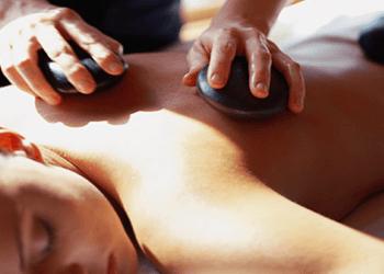 Applicazione pietre calde