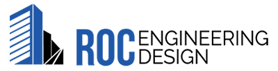 roc engineering design business logo