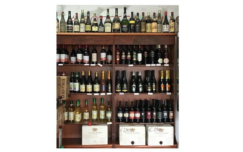 cantina vino monza