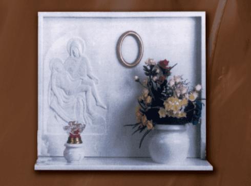 Lapidi in marmo sivec