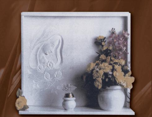 Lapide in marmo corano