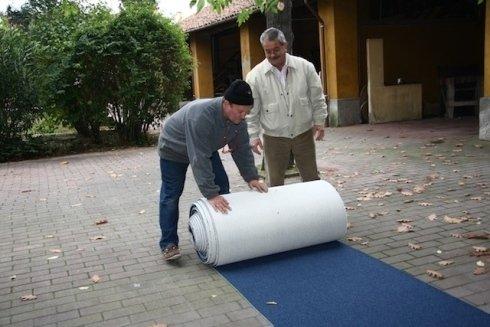 Installazione moquette su misura