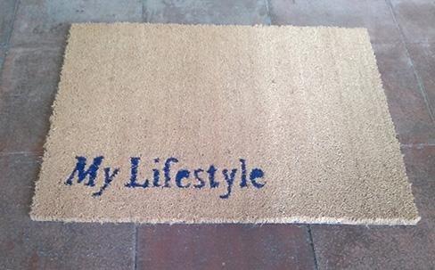 tappetino personalizzato