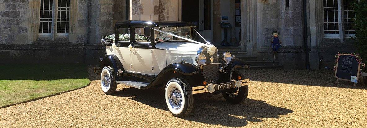 brand new vintage car