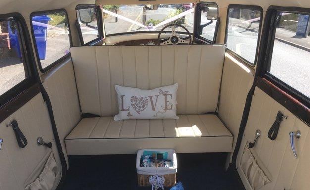 vintage car interiors