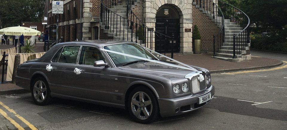 Bentley Arnage wedding car