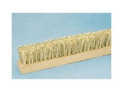 Brush for breaking rollers
