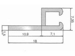supporto in alluminio SB4180G