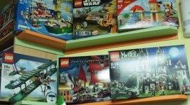 reparto cancelleria, giochi di costruzione, giocattoli per bambini