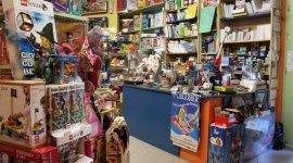 articoli per il tempo libero, assortimento giocattoli, vendita libri di testo