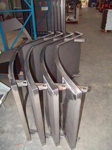 Lastre di metallo lavorate