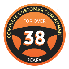 Complete customer commitment for over 38 years