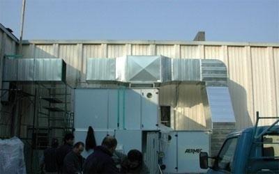 climatizzazione industriale