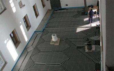 impianti riscaldamento a pavimento