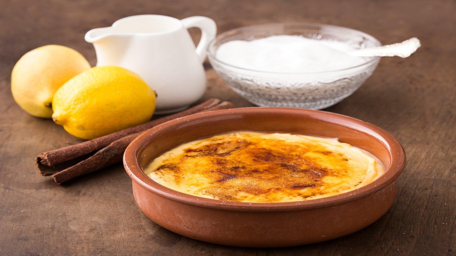 Crema pasticciera - Natillas - crema catalana