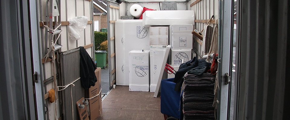 large removals and storage service