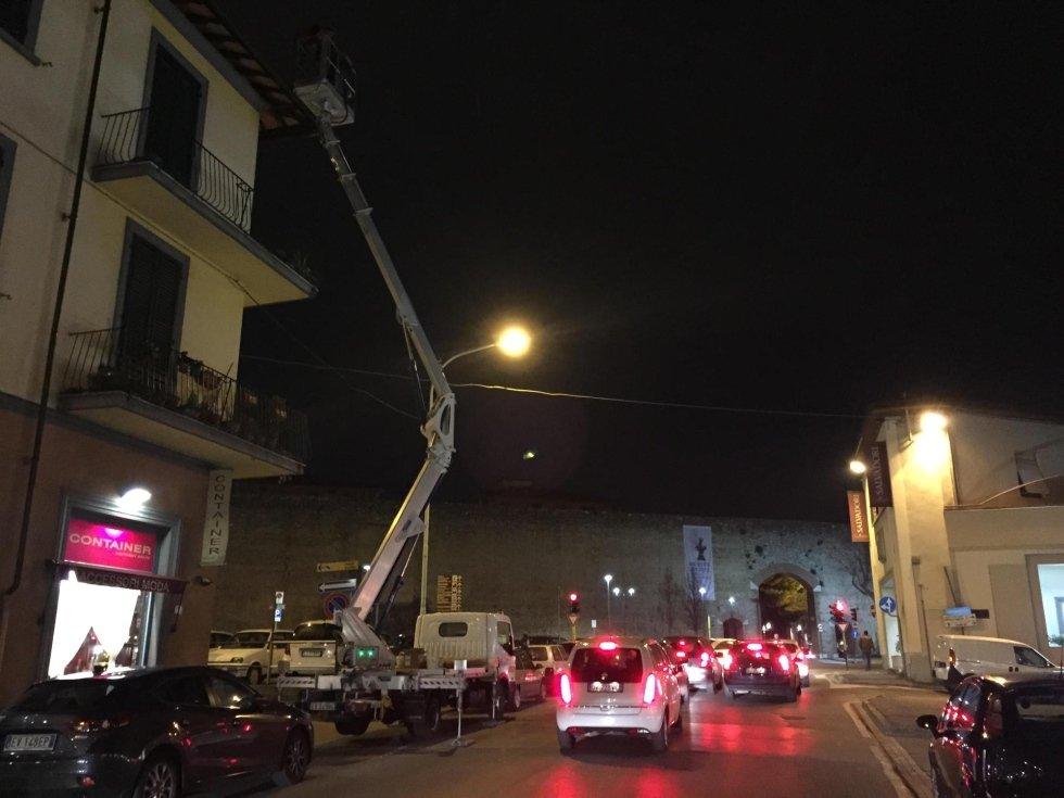 Intervento di urgenza a Prato