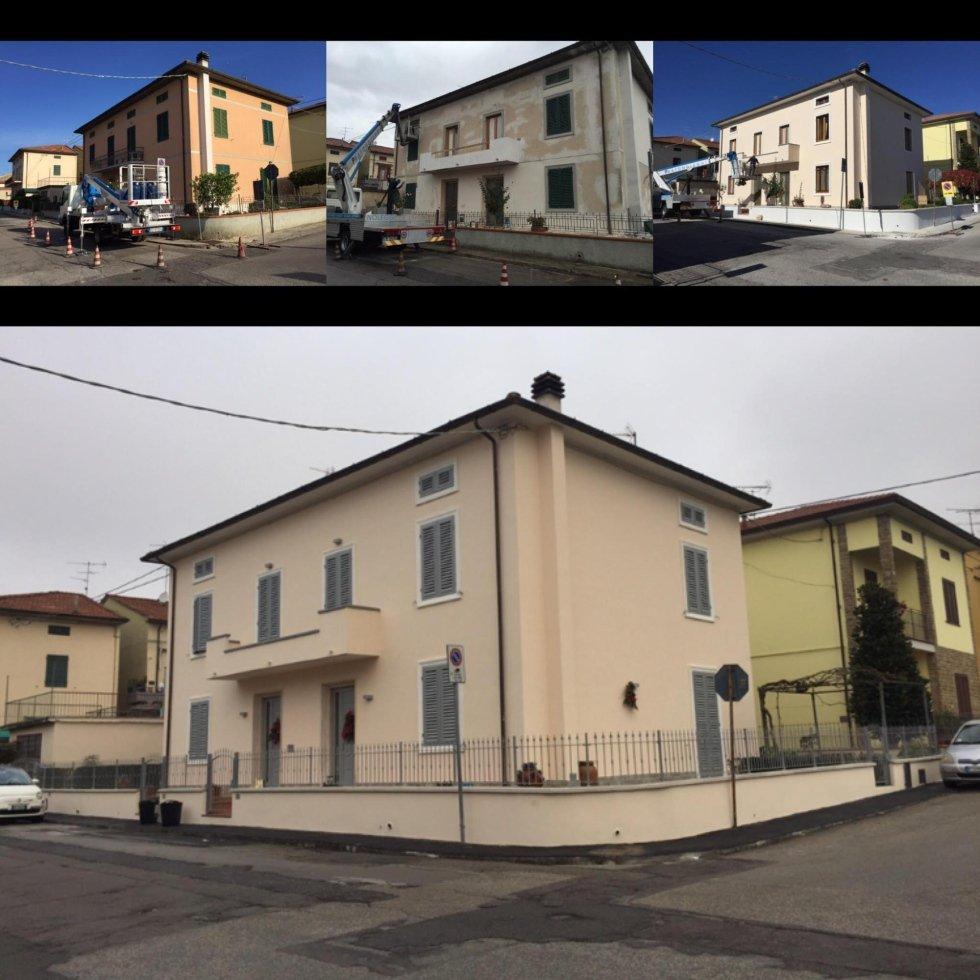 Rifacimento villa a Montemurlo