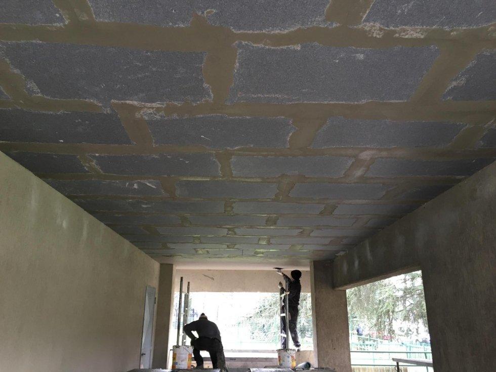 Realizzazione cappotto termico a soffitto in via Castellani Prato 01.jpeg