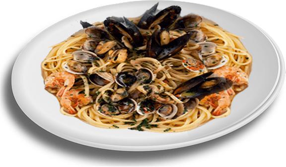 degli spaghetti allo scoglio