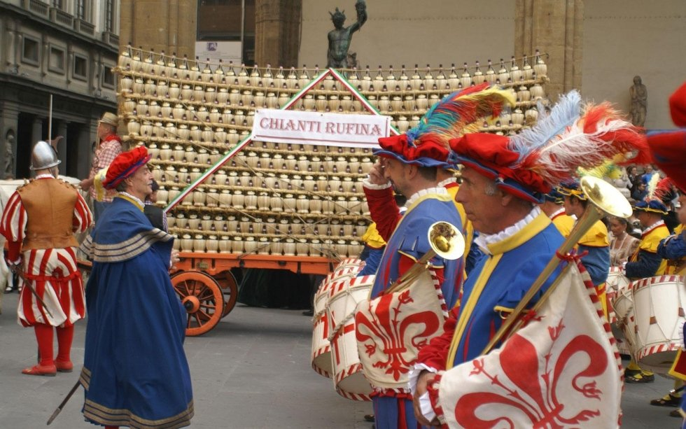 Bacco Artigiano, manifestazione in costume