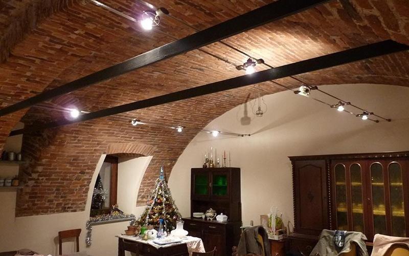Vendita lampade tesate cuneo il triangolo lampadari for Lampade faretti