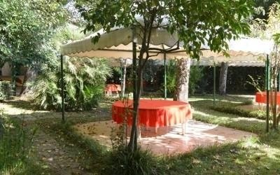 restaurant with garden viareggio