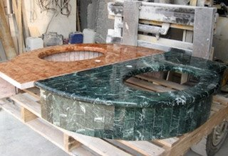 lavandini in marmo