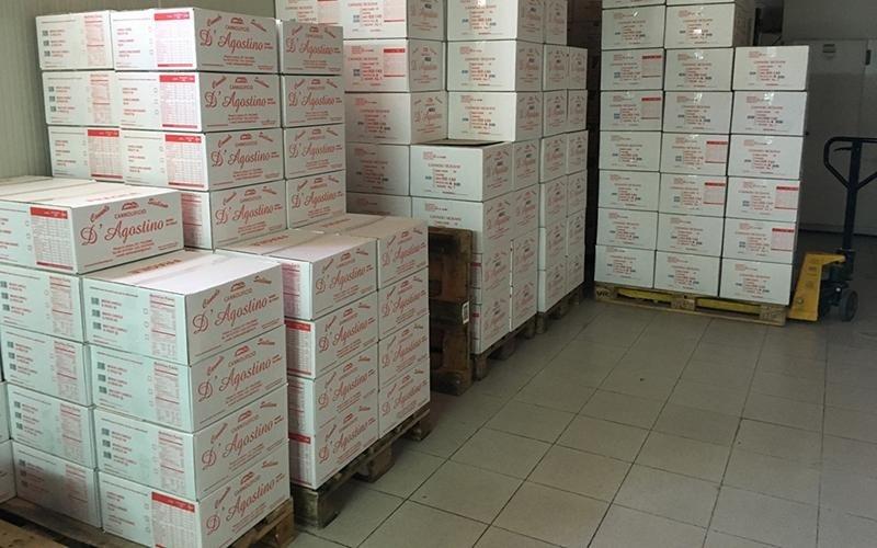 Produzione cialde cannoli