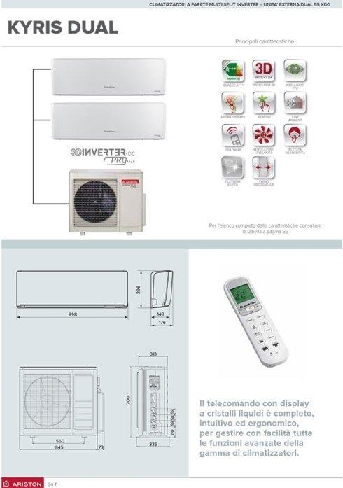 climatizzatore multisplit inverter