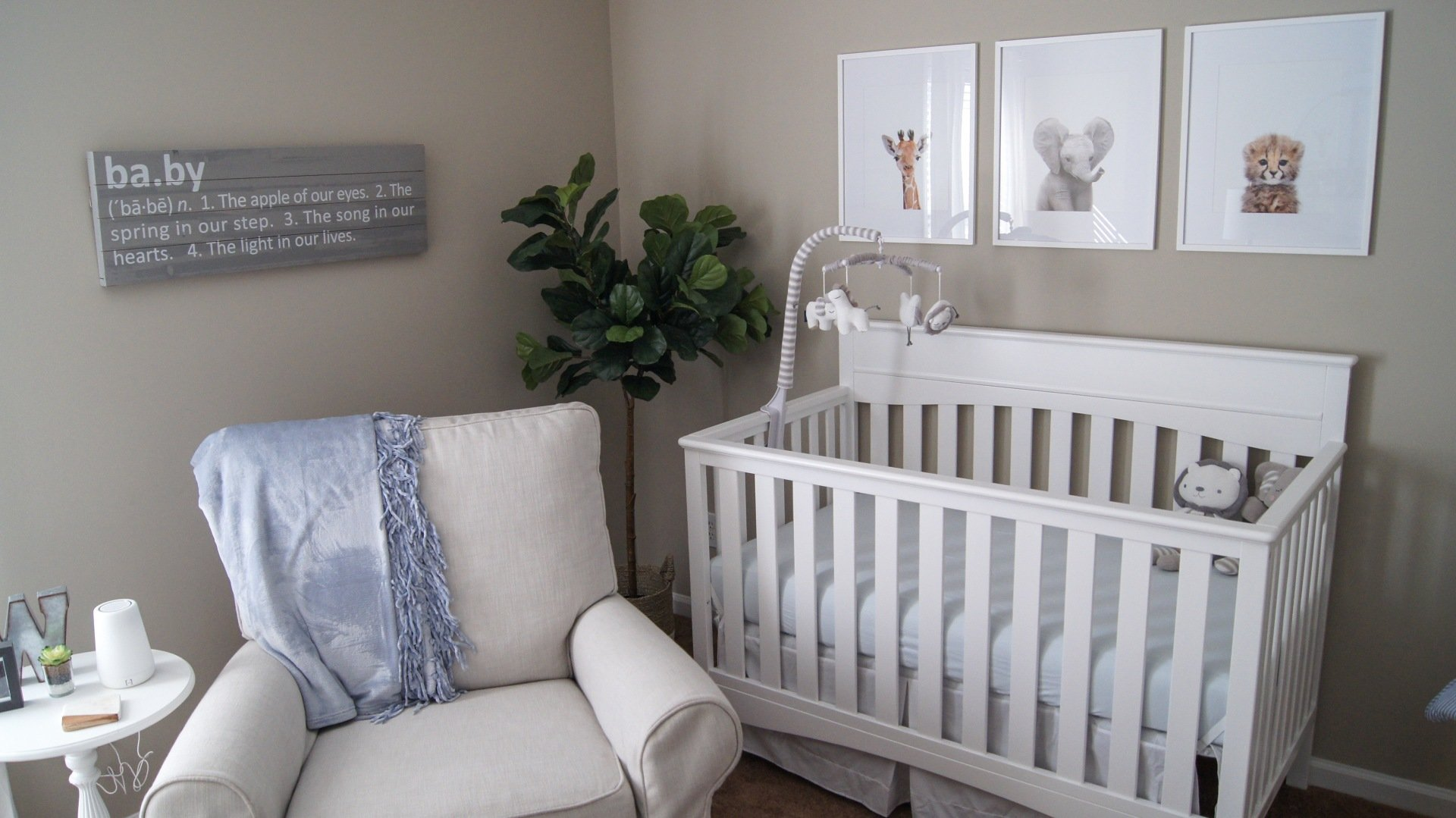 Wyatt S Neutral Baby Boy Safari Nursery