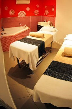 aromatherapy milk and mineral baths
