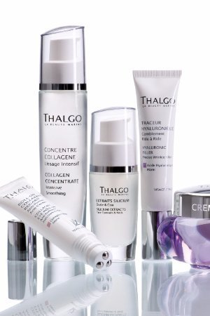 thalgo facial and skin care products