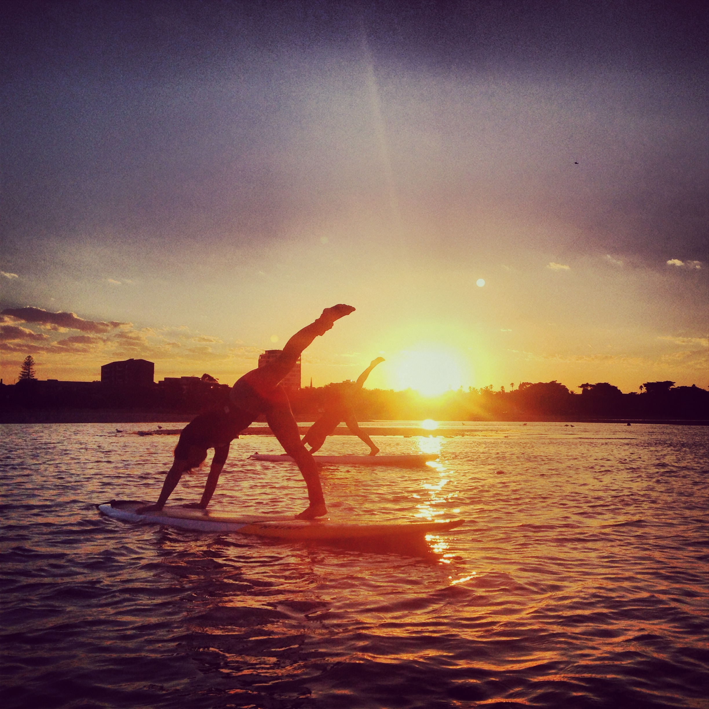 Sunrise SUP Yoga