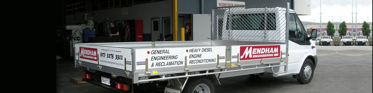 mendham engineering pty ltd delivery truck