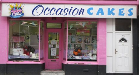 Occasion Cakes store