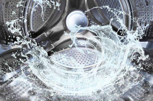 interno di una lavatrice
