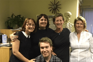 team of therapists