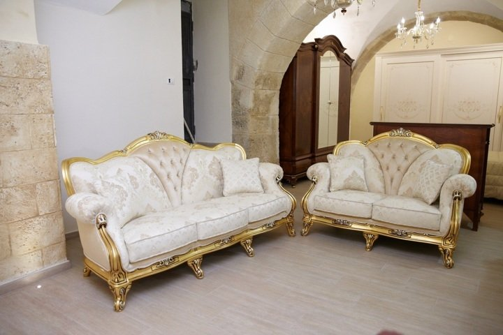 divano in stile made in italy