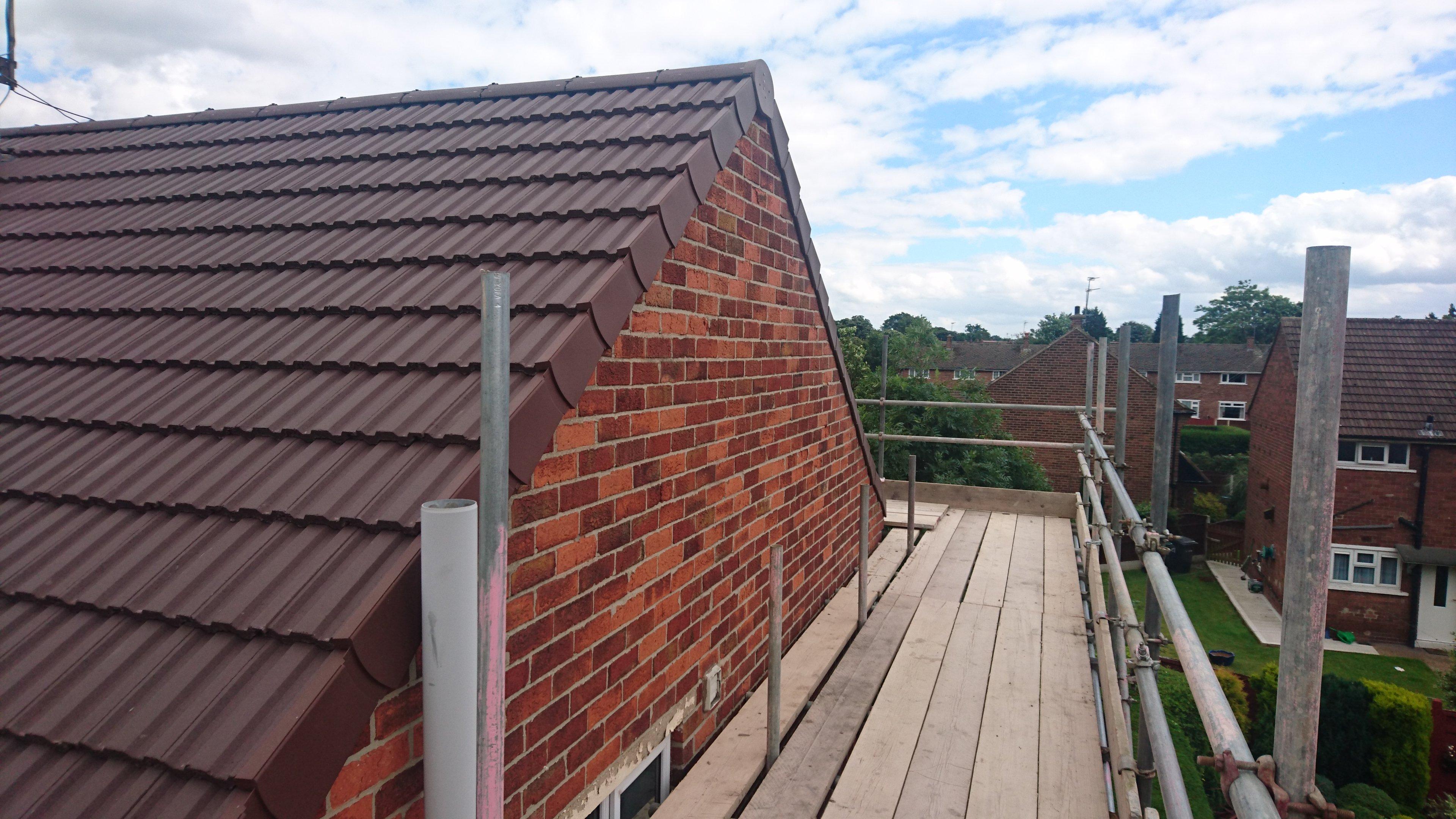 red roofline
