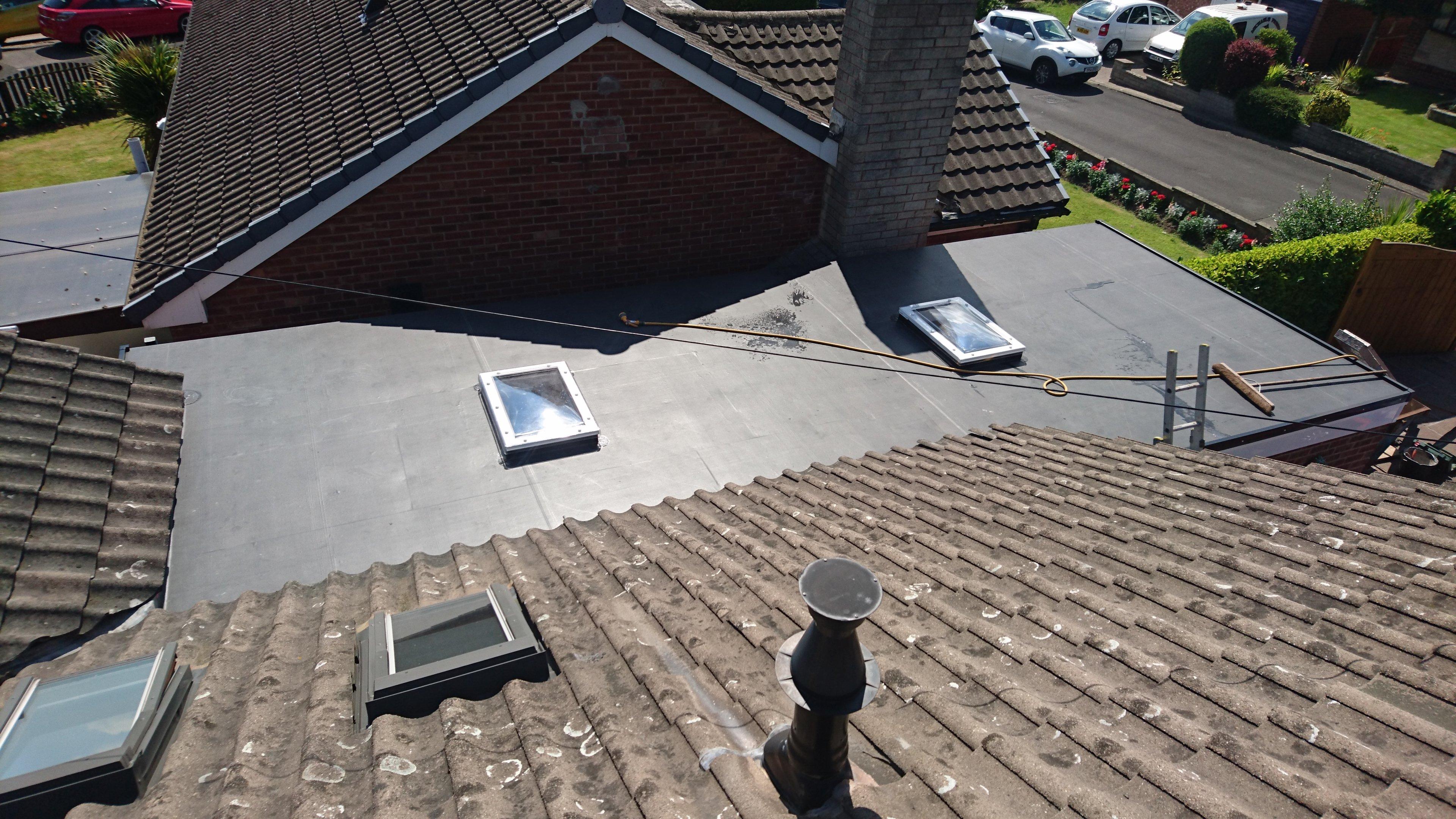 felt roof windows