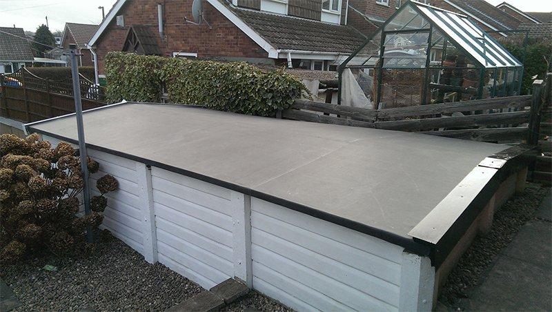 roof frame repairs