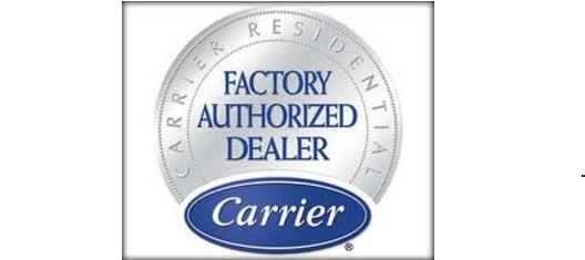 authorized Carrier dealer logo