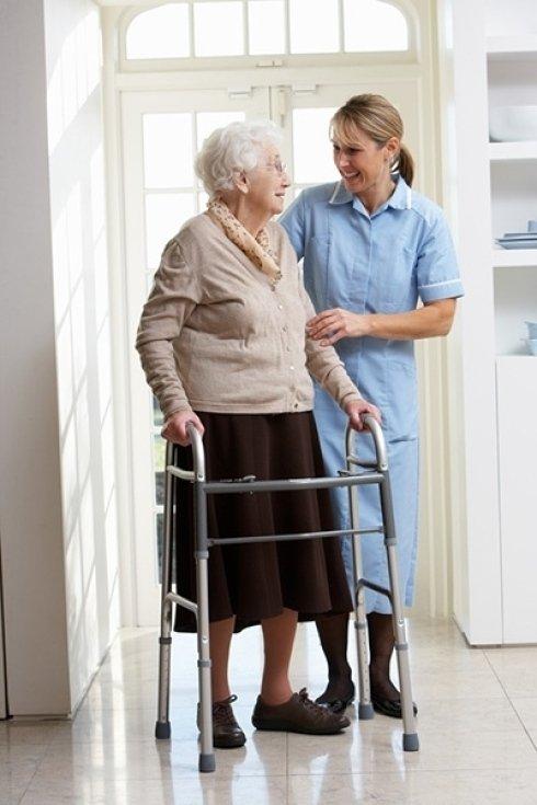 Servizio di assistenza per anziani.