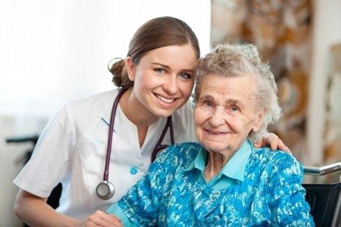 Assistenza per anziani disabili.