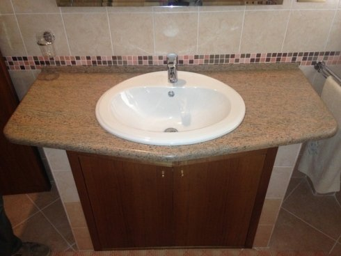 Rivestimento bagno marmo