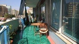 terrazza di una casa di riposo per anziani