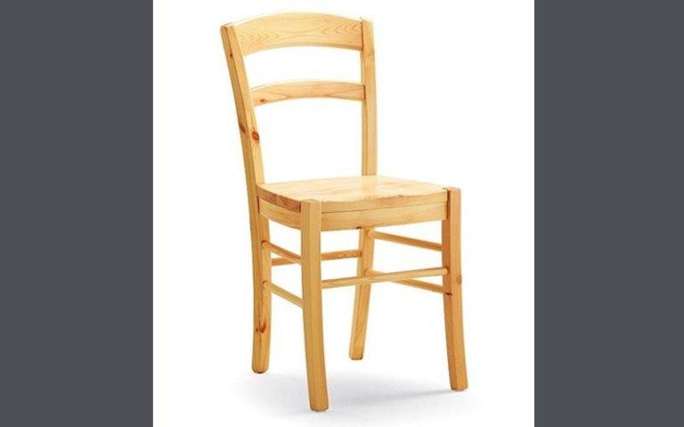 Sedia paesana legno