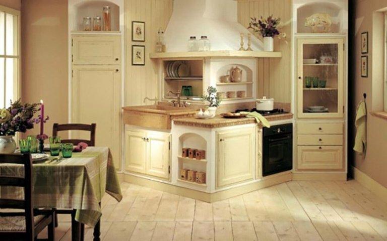 Cucina design rustico