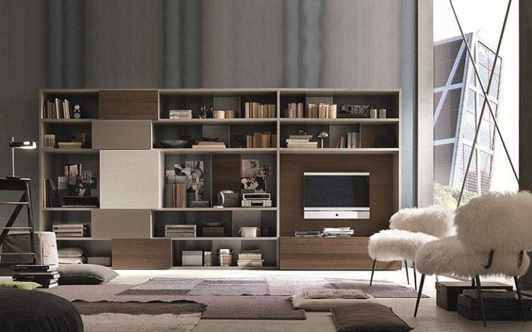 Fornitura mobili zona giorno susa torino socomeva for Disposizione mobili soggiorno